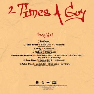 Reggie Osei 2 Times a guy Tracklist