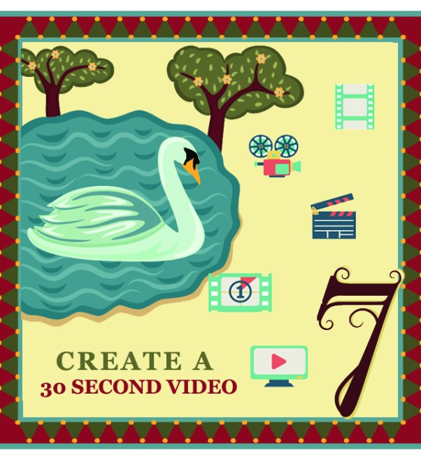 "On the seventh day of Christmas my web strategist said to me - ""Create a 30 second video staring you. People buy from people, not from companies."""
