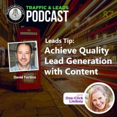 Traffic and Leads Podcast: Buy High Quality Leads