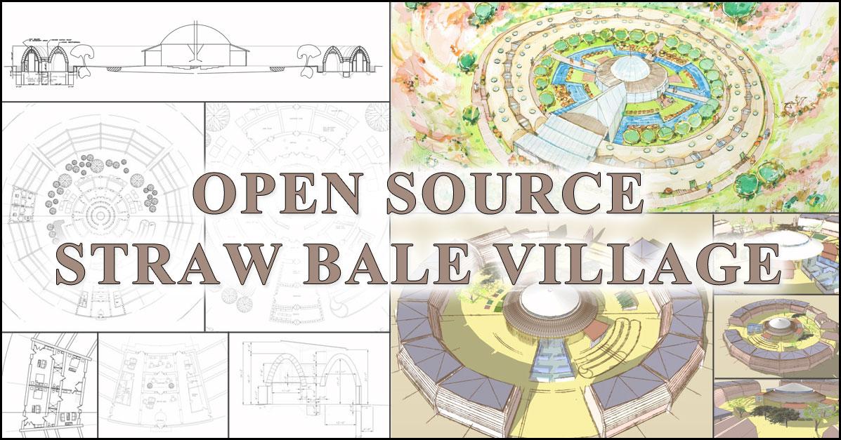 Straw Bale Village Ecological Economical Artistic
