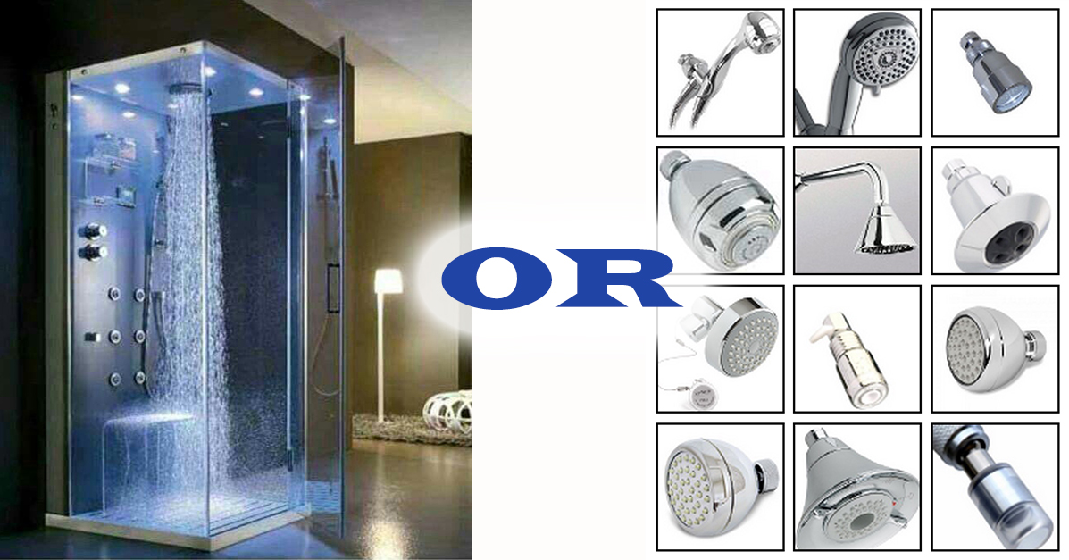 Water Saving Shower Heads Evaluation and Review Hub