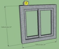 Window/Door Framing for Earthdomes and Aircrete Domes