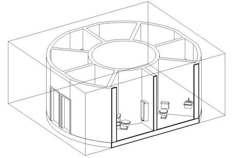 Open Source Water Recycling Net-zero Bathroom Built with