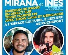 Ne manquez pas la tournée événement de vos vacances en nouvelle aquitaine avec Mirana et Inès du 26 Février au 1 mars