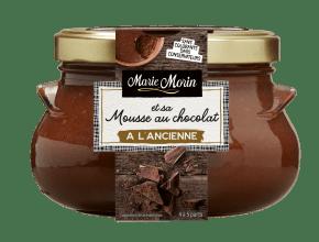 Marie Morin-Mousse choco à l'ancienne-400g Face