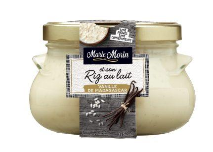 Marie Morin-Riz au lait vanille de Madag-500g FACE