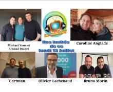 Voici en réécoute nos émissions de ce lundi 13 juillet spécial Divorce club avec Michael Youn, Arnaud Ducret