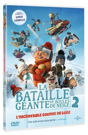 La-Bataille-Geante-de-Boules-de-Neige-2-l-incroyable-course-de-luge-DVD