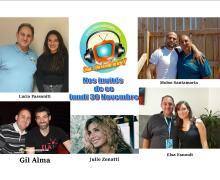 Elsa Esnoult, Moïse Santamaria, Julie Zenatti, Lucia Passaniti et Gil Alma lundi 30 novembre dans Chut on écoute la télé