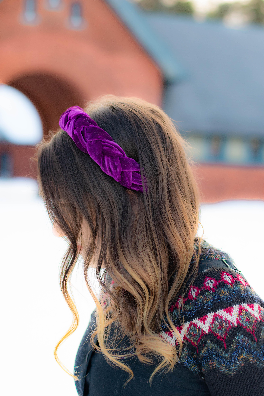 Awe Inspiring Braided Velvet Headband Tutorial One Crafdiy Girl Schematic Wiring Diagrams Phreekkolirunnerswayorg