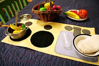 Kitchen Playmat Tutorial
