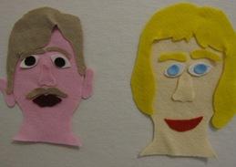 artfulparentfeltfaces