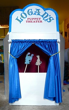 Make Your Own Puppet Theater