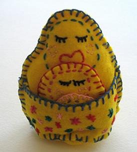 Felt Nesting Dolls Pattern