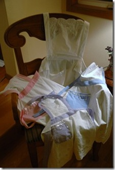 Tablecloth to Aprons Tutorial