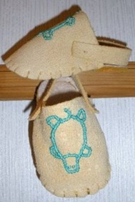 Win a Pair of Baby Moccasins