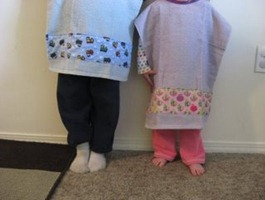 Toddler Towel Bib Tutorial
