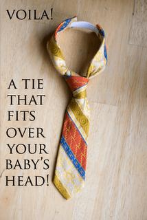 Baby Necktie Tutorial
