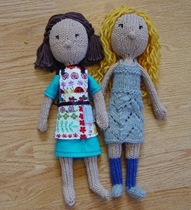 Free Knitted Doll Pattern