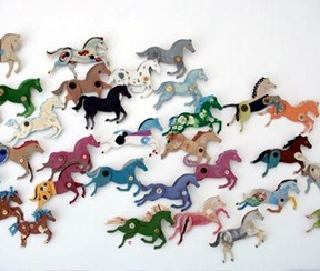 Cardboard Horses Tutorial