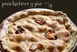 Peachaberry Pie Recipe