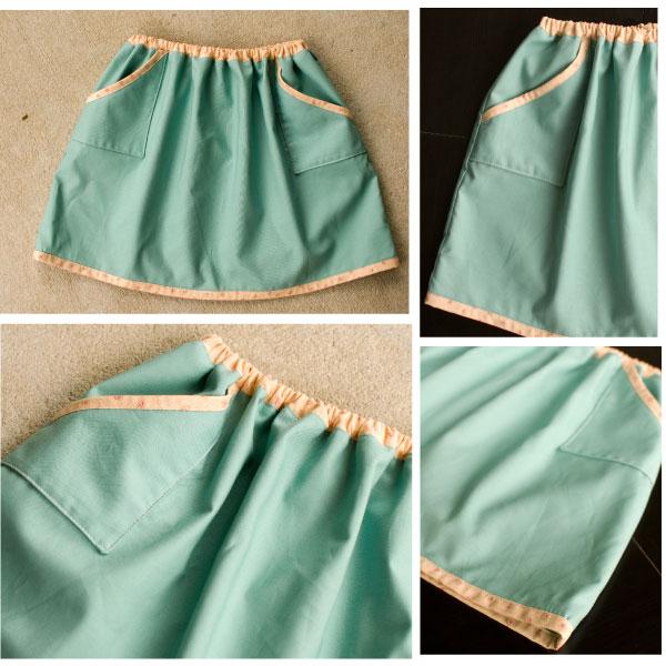 Bias-Trimmed Skirt (KCWC Day2)