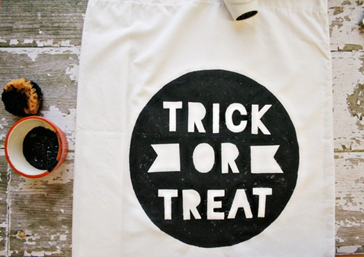 trick or treat pillowcase armommy