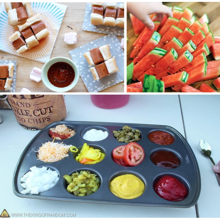 Image result for outdoor party treats