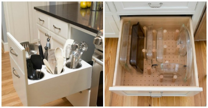 kitchen drawer organization ideas towels target how to organize your with 12 clever