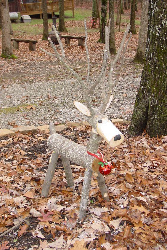 log-reindeer