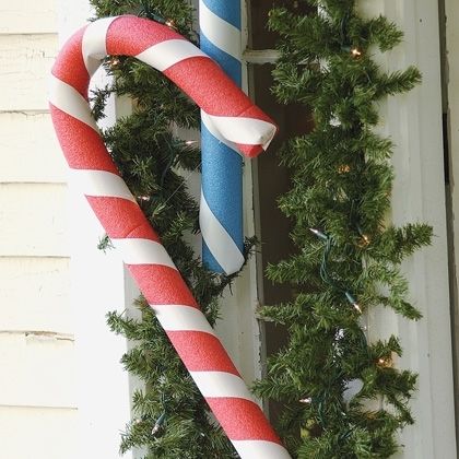 Sanding Pvc Pipe Lighted Candy Cane Tutorial