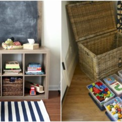 Kids Pull Out Sofa Ikea Kivik Cover Red 13 Kid-friendly Living Room Ideas To Manage The Chaos