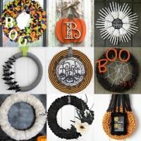 DIY Halloween Wreath Ideas - 15 Creative Halloween Wreath ...