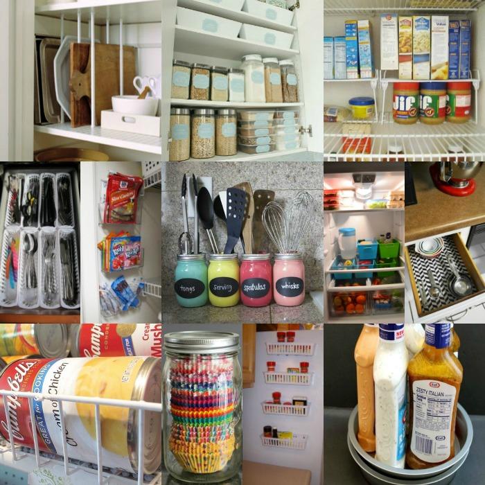 Dollar Store Kitchen Organization Ideas  20 Clever Ideas