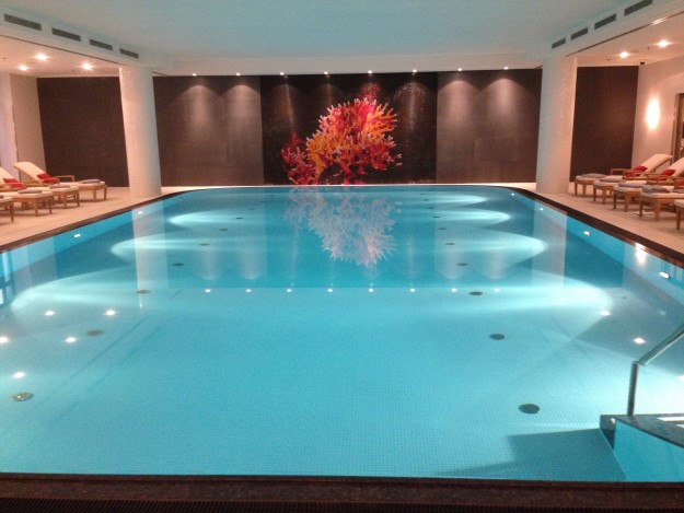 Relaxing At The Charles Hotel Spa And Pool In Munich