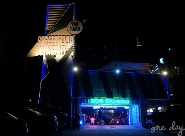 Food at The Yard Street Food Cinema