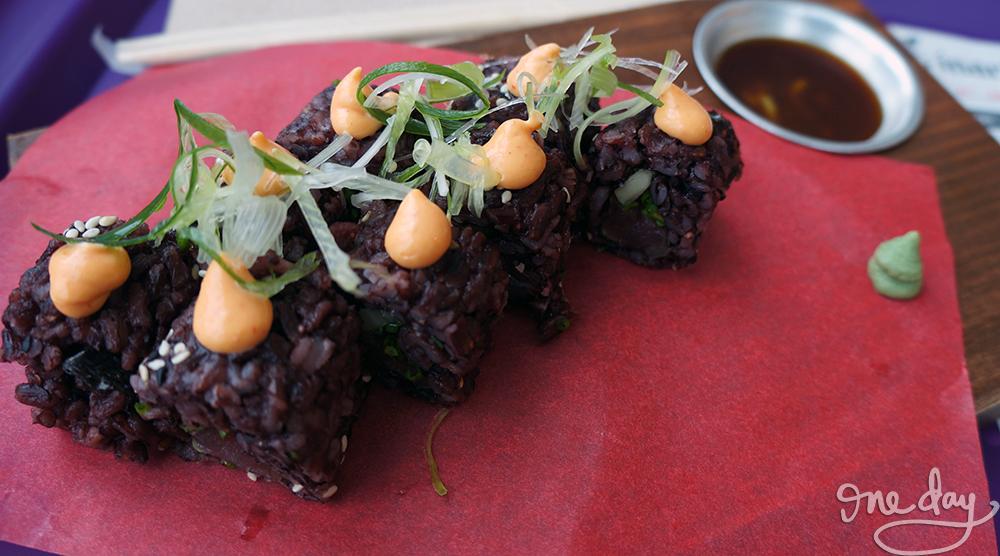 Black Sushi from Inari by Hamaru