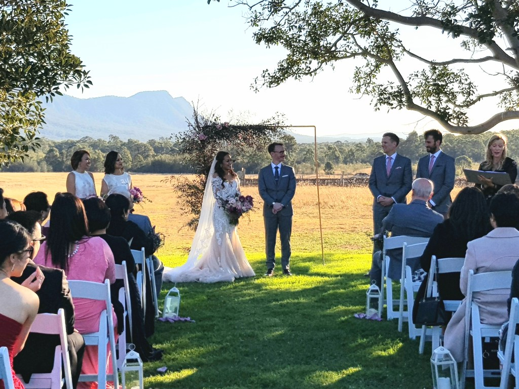 Wedding at the Hunter Valley