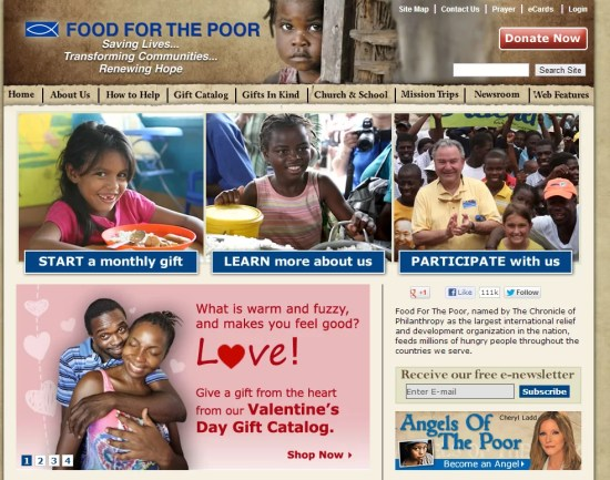 Food For The Poor   Helping the Poor  Charitable Giving  International Relief   Serving the Poorest of the Poor