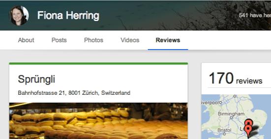 Google+-reviews