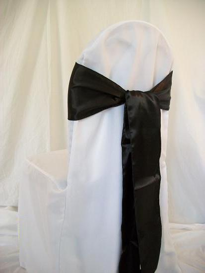 chair cover rental orland park stress 1 rentals of chicago black sash one dollar covers