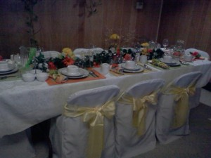 chair cover rental orland park black bedroom 1 rentals of chicago folding covers with yellow sashes