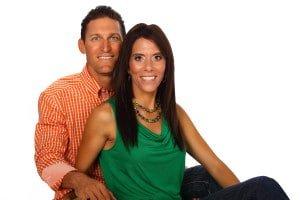 Tony & Alisa on White Background