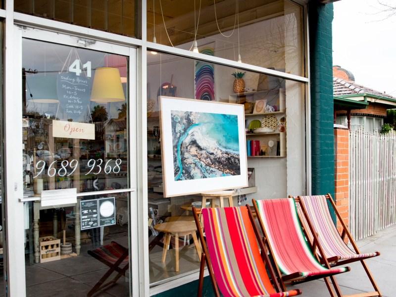 framed photography print instore melbourne
