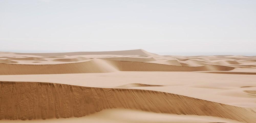 A photograph of Africa desert