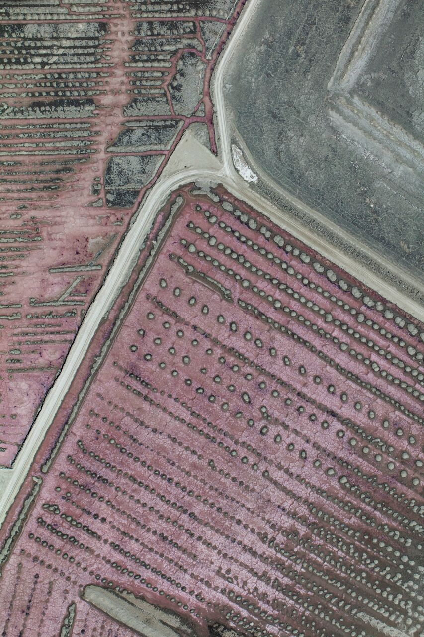 Aerial Abstract Art Print Australia
