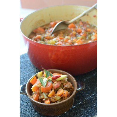 Healthy Recipe: Warm Up With Lentil and Sweet Potato Stew