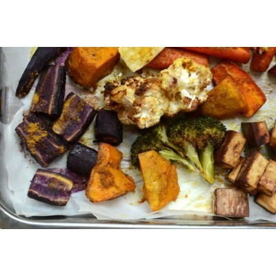 Healthy Recipe: Warm Up With Spicy Roast Vegetables