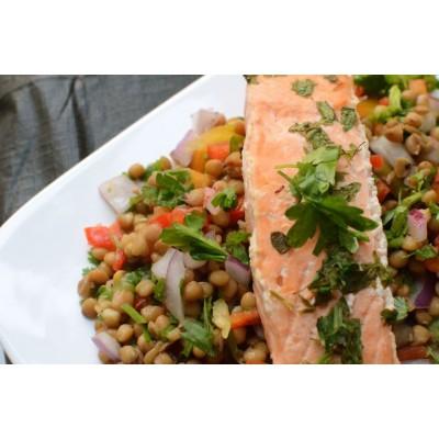 Healthy Recipe: Lentil & Coriander Salad