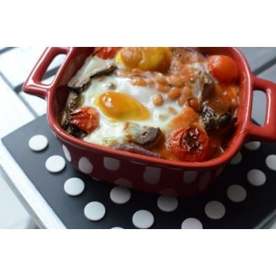 Breakfast Recipe: Baked Eggs